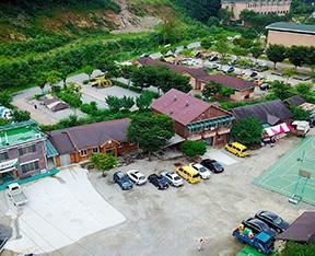 백둔리 연인산 산촌마을